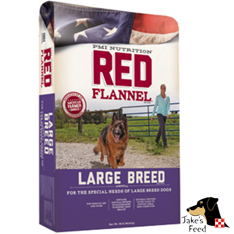 Red Flannel Large Breed Adult Dog Food