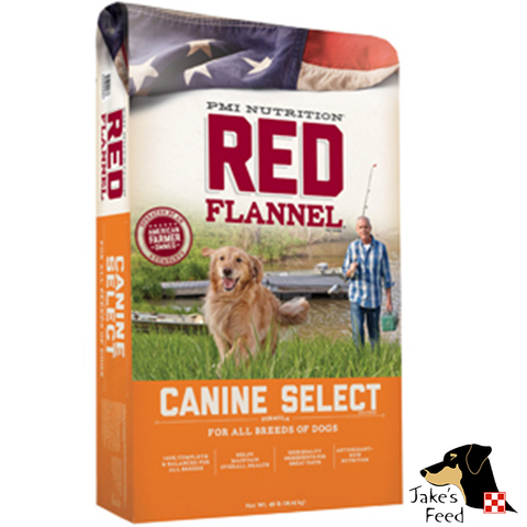 Red Flannel Canine Select Adult Dog Food