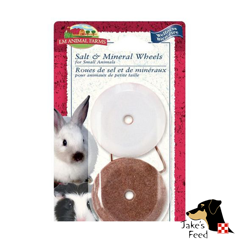 SALT & MINERAL WHEEL COMBO SET FOR SMALL ANIMALS