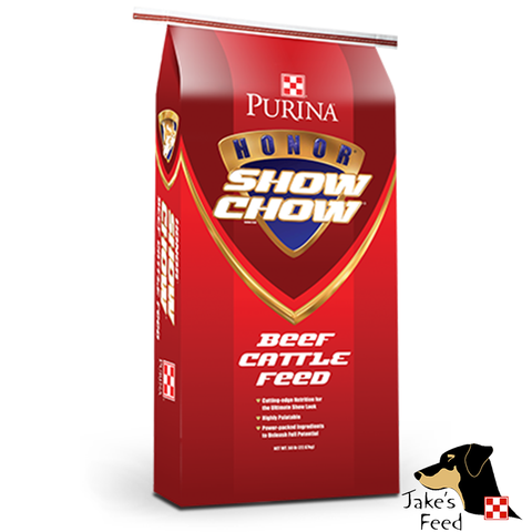 Purina Honor Show Chow Cattle Finisher