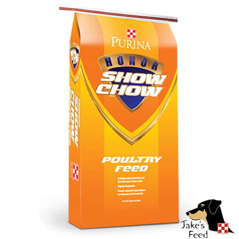 SHOW CHOW POULTRY GROWER/FINISHER