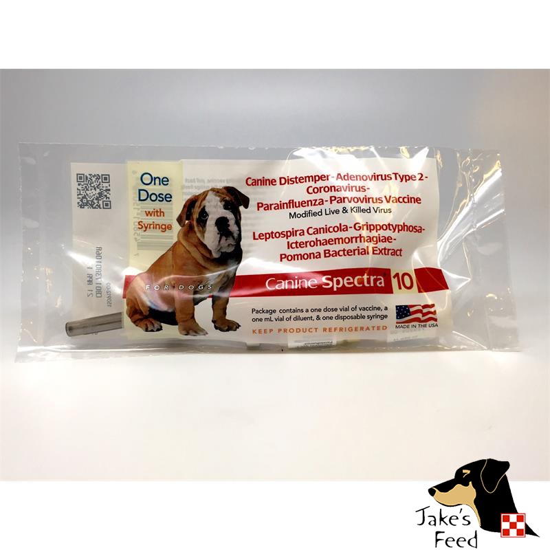 DURVET CANINE SPECTRA 10 VACCINE SINGLE DOSE