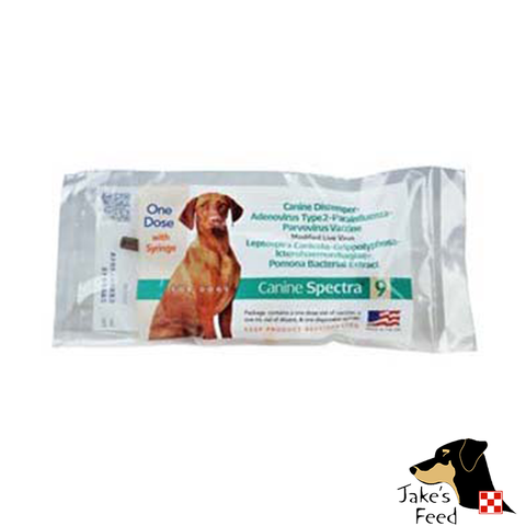 DURVET CANINE SPECTRA 9 VACCINE SINGLE DOSE