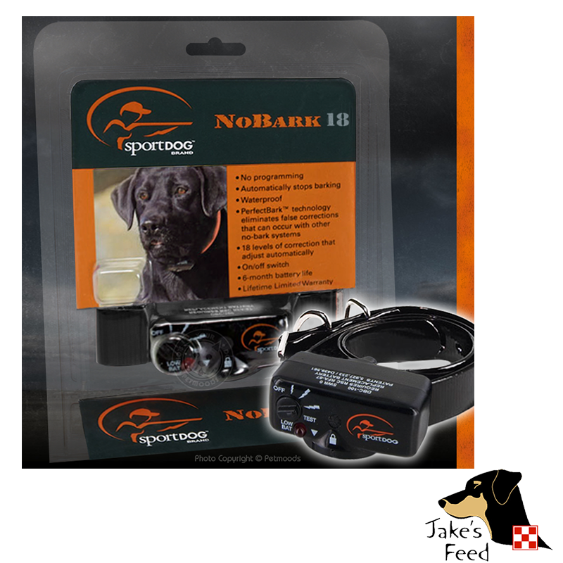 SPORTDOG NO-BARK COLLAR 18 LEVEL CORRECTION