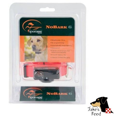 SPORTDOG NO-BARK COLLAR 6 LEVEL CORRECTION