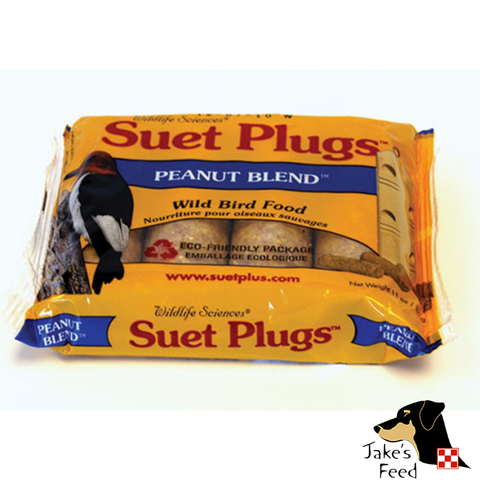 SUET PLUGS HIGH PROTIEN PEANUT 4 PACK
