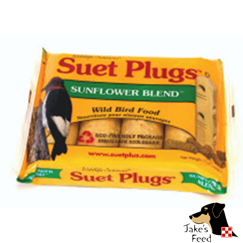SUET PLUGS HIGH PROTIEN SUNFLOWER 4 PACK