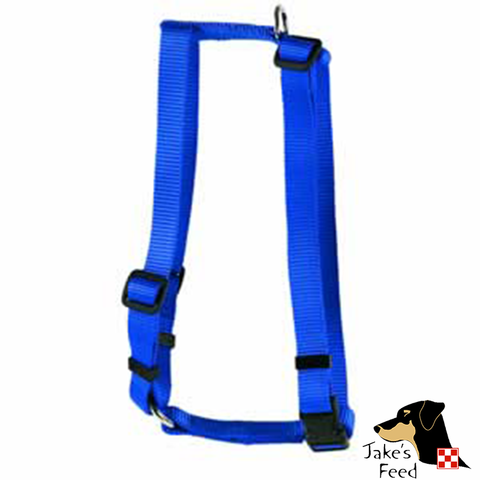 "VALHOMA ADJUSTABLE NYLON 3/8"" PET HARNESS XS"