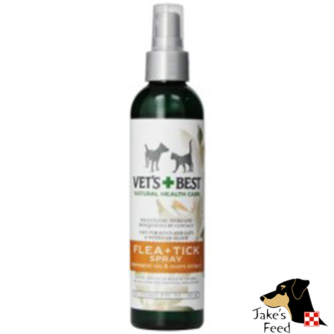 VETS BEST NATURAL FLEA & TICK SPRAY 8 OZ.