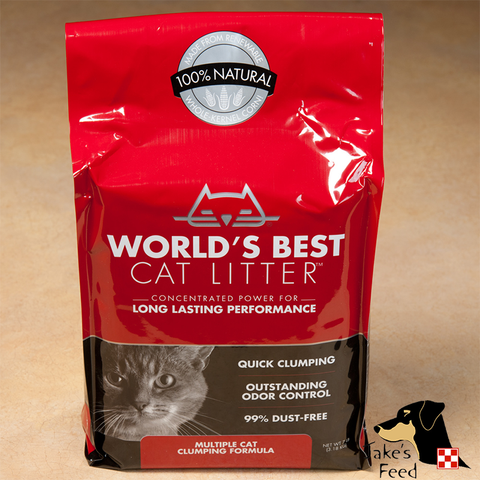 WORLD'S BEST MULTI-CAT EXTRA STRENGTH CLUMPING CAT LITTER