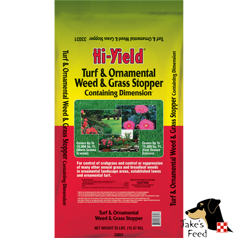 WEED & GRASS STOPPER WITH DIMENSION