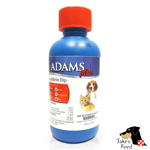 ADAMS PLUS FLEA AND TICK DIP WITH PYRETHRIN