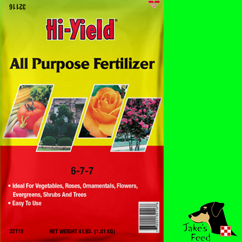 ALL PURPOSE FERTILIZER 4lb
