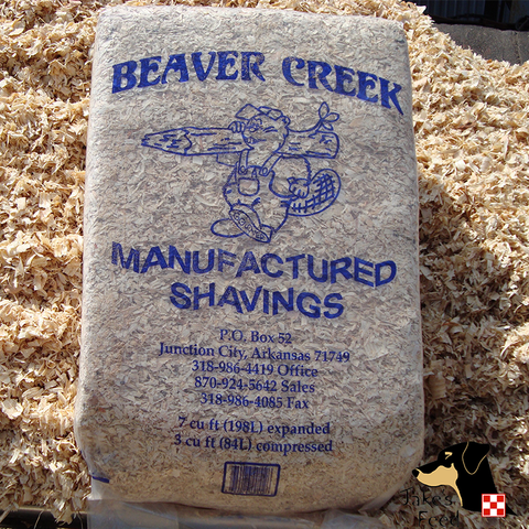 Shavings Beaver Creek