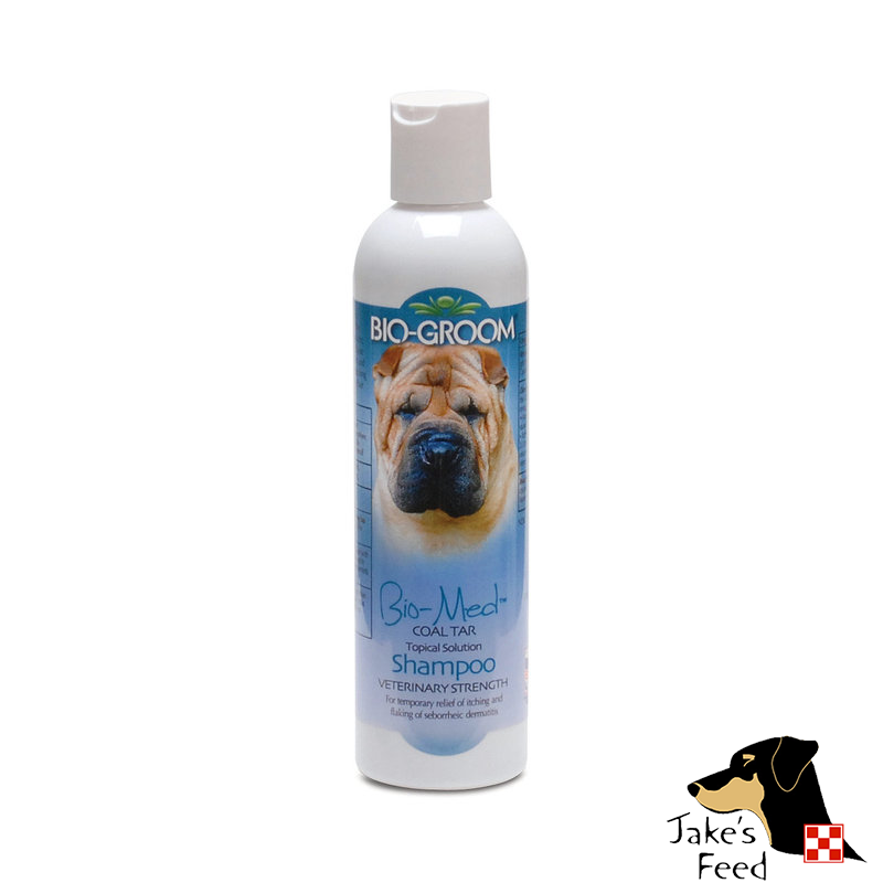 BIO-GROOM BIO-MED COAL TAR SHAMPOO 8 OZ.