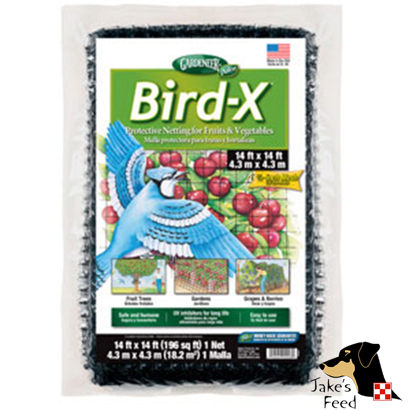 BIRD X PROTECTIVE NETTING 14' X 14'