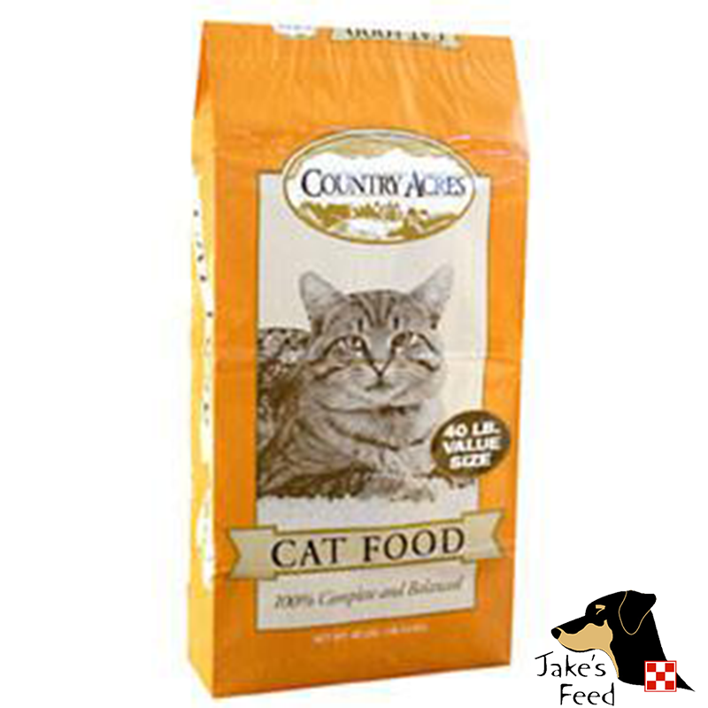 Country Acres Cat Food 40#