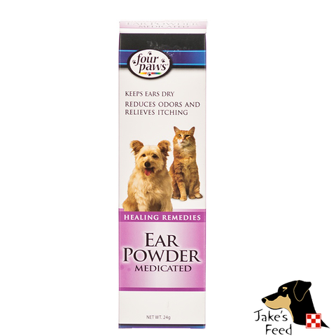 FOUR PAWS EAR POWDER MEDICATED 24 gram