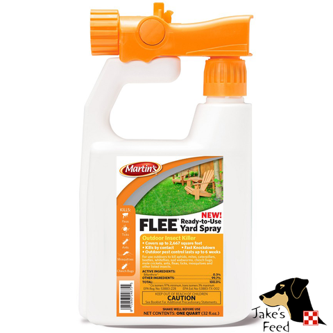 FLEE RTU YARD SPRAY 32 oz