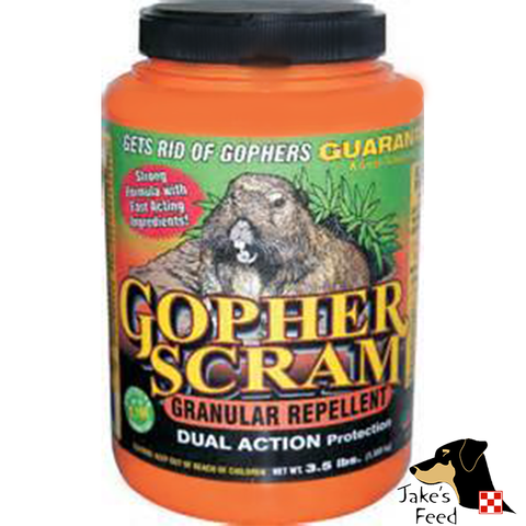 GOPHER SCRAM SHAKER CAN 3.5#