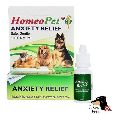 HOMEOPET ANXIETY RELIEF LIQUID DROPS