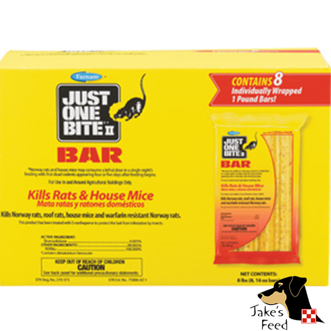 JUST 1 BITE BARS  8lbs