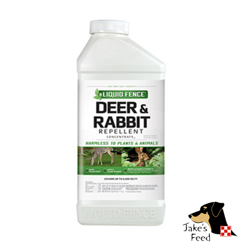 Liquid Fence Rabbit/Deer Repellent Concentrate 40oz