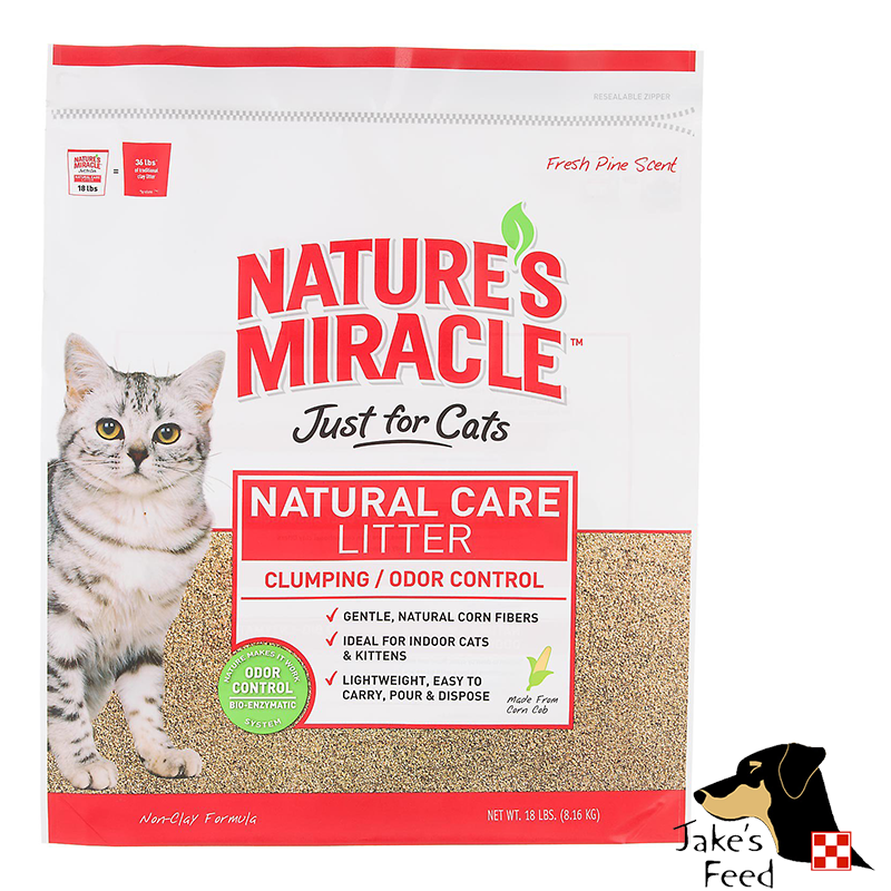 NATURE'S MIRACLE NATURAL CARE CAT LITTER 10#
