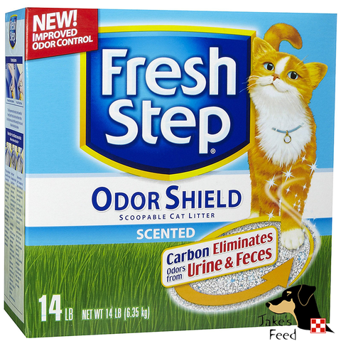 FRESH STEP ODOR SHIELD SCOOPABLE SCENTED CAT LITTER 14#