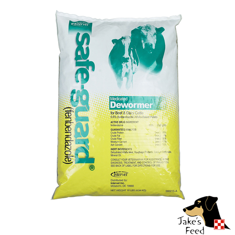 SAFE-GUARD LIVESTOCK DEWORMER PELLETS 1#