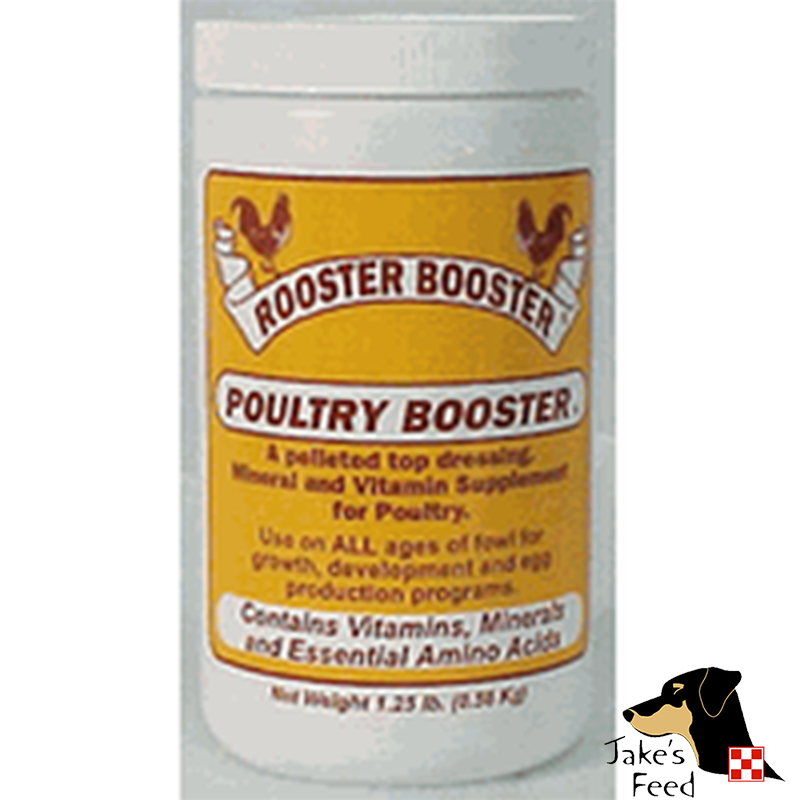 ROOSTER BOOSTER POULTRY BOOSTER