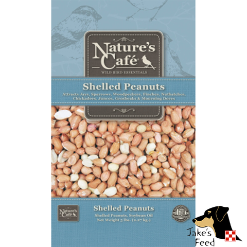 NATURE'S CAFE PEANUTS SHELLED 5#