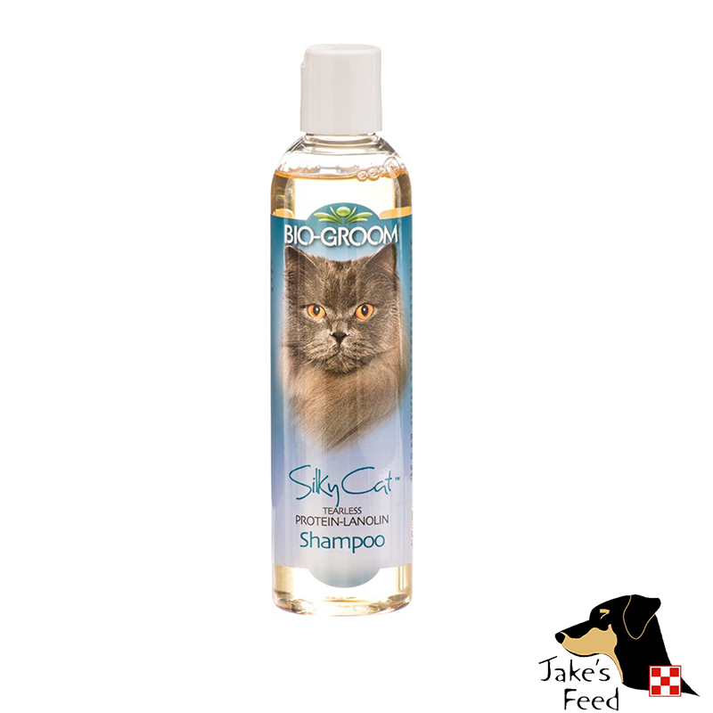 BIO-GROOM SILKY CAT SHAMPOO 8 OZ.