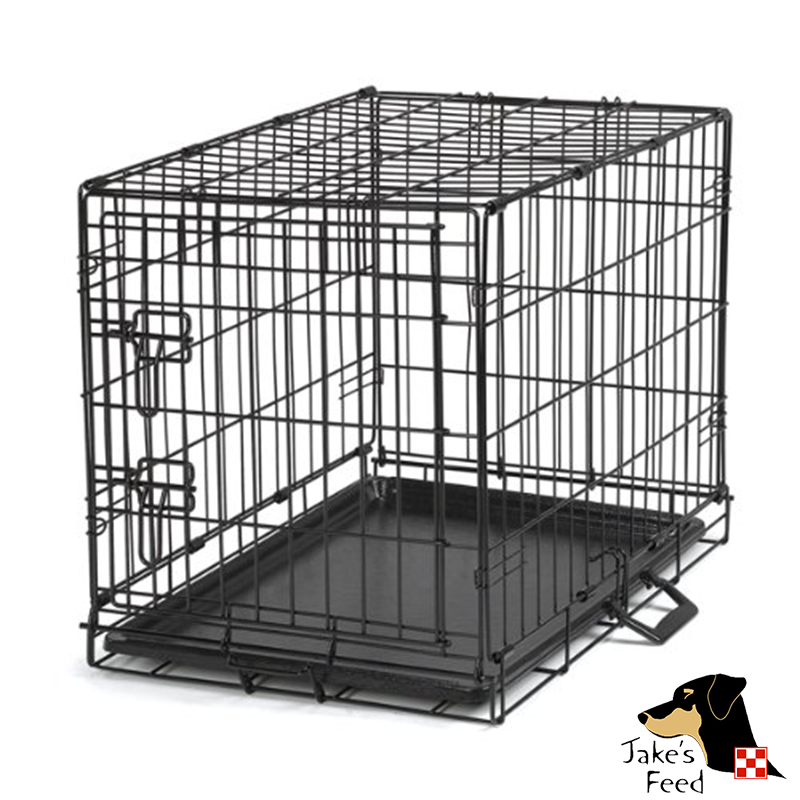 WIRE CRATE SINGLE DOOR 24""