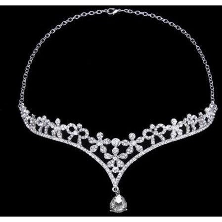 Bridal Crystal Rhinestone Tiara Crown