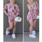 Girl Floral Toddler Romper