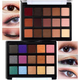 15 Colors Popfeel Professional Makeup Eye shadow Palette Shimmer Mini Cosmetic