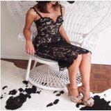 Romantic Lace Party Evening Dress