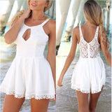 Women Celeb Lace Playsuit Evening Summer Jumpsuit Shorts