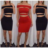 Sexy Women's Summer Bandage Bodycon Club Evening Party Cocktail Short Mini Dress