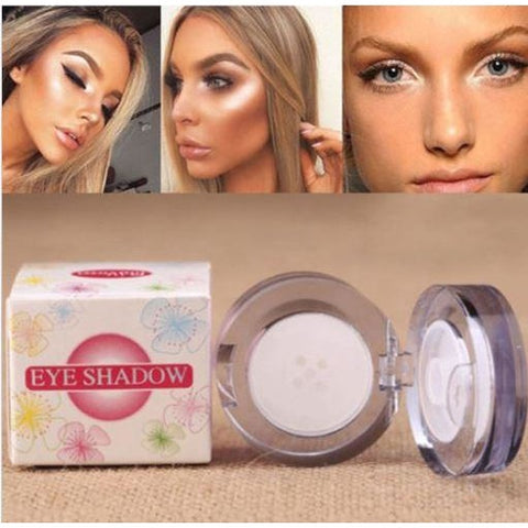Pro Makeup Powder Face Highlighter Bronzer Palette Eye shadow Contour