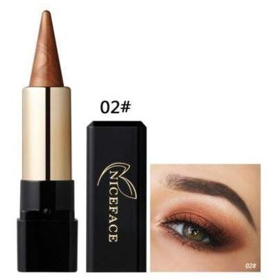 Metallic Smokey Waterproof Shimmer Long Lasting Makeup Eye shadow Stick