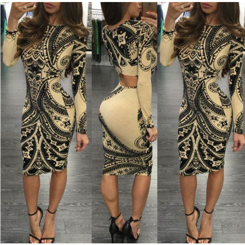 Casual Bandage Bodycon Evening Party Cocktail Short Mini Dress