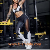 Mesh Patchwork Fitness Sport Leggings