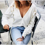 Long Sleeve New Cardigan Knitted Sweater Knitwear Pullover Outwear Tops