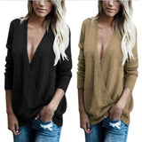 West Coast Wrap Front Sweater