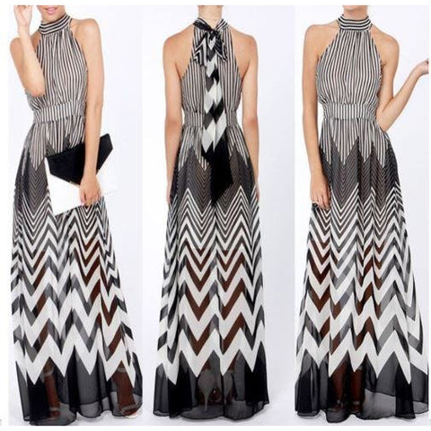 New Ladies Summer Long Maxi Party Dress