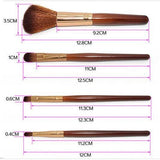 Makeup Brush Cosmetic Toiletry Makeup Blush Eyebrow Lip Brushes
