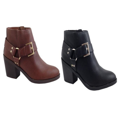 Buckle Anckle Boots