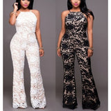Overal Lace White or Black Jumpsuit